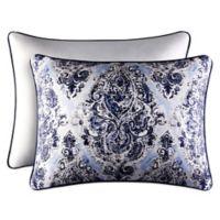 Piper & Wright Santorini King Pillow Sham in Indigo