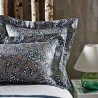 Frette At Home Florenta European Pillow Sham in Ocean