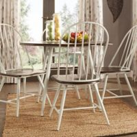 Verona Home Bratton 5-Piece Dining Set in White