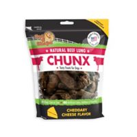 Pet 'n Shape™ Natural Beef Lung CHUNX 1-Lb Bag Dog Treats in Cheese Flavor