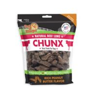 Pet 'n Shape™ Natural Beef Lungs CHUNX 1-Lb Bag Dog Treats in Peanut Butter