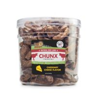 Pet 'n Shape™ Natural Beef Lungs CHUNX 2-Lb Tub Dog Treats in Cheese