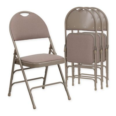 buy padded outdoor folding chair from bed bath beyond. Black Bedroom Furniture Sets. Home Design Ideas