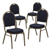 Flash Furniture HERCULES™ Banquet Chairs in Navy (Set of 4)