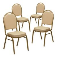 Flash Furniture HERCULES™ Banquet Chairs in Beige (Set of 4)