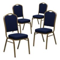 Flash Furniture HERCULES™ Banquet Chairs in Gold (Set of 4)