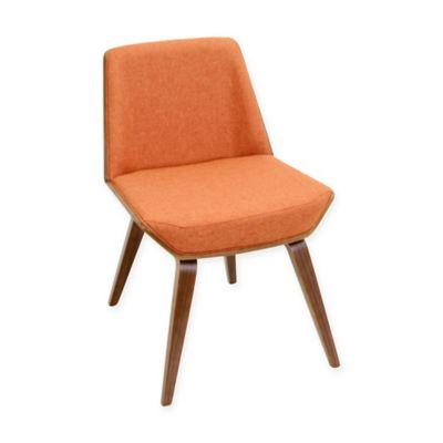 Cool Orange Accent Chair Decoration