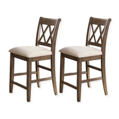 Franco Wood Counter Stools (Set of 2)  sc 1 st  Bed Bath u0026 Beyond & Buy Comfortable Counter Stools from Bed Bath u0026 Beyond islam-shia.org