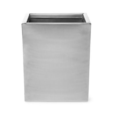 bathroom wastebasket. Roselli Trading Modern Wastebasket in Stainless Steel Buy Bathroom from Bed Bath  Beyond