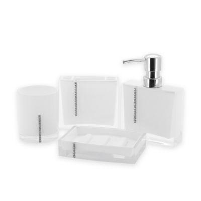 Kingston Brass Reef 4 Piece Bathroom Accessory Set In White