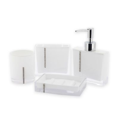 Buy Crystal Bathroom Accessories from Bed Bath Beyond