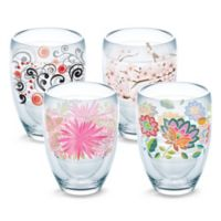 Tervis® Cherry Blossom Wrap Stemless Wine Glasses (Set of 4)