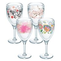 Tervis® Cherry Blossom Wrap Wine Glasses (Set of 4)