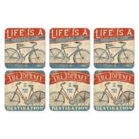 Pimpernel Beautiful Ride Square Coasters (Set of 6)