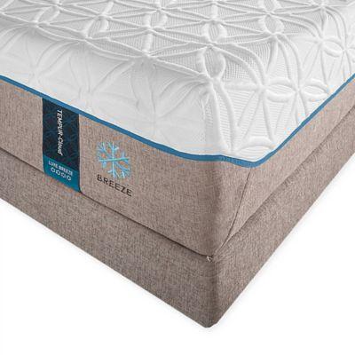 tempurpedic tempurcloud luxe breeze split king mattress