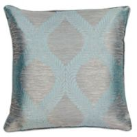 Kas® Elegance 18-Inch Square Throw Pillow in Grey/Blue