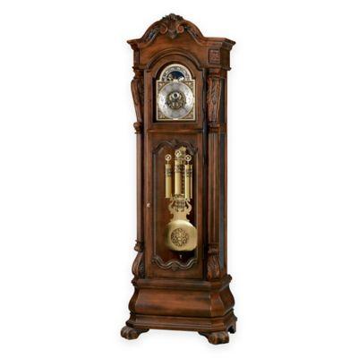 Howard Miller Hamlin™ Floor Clock In Rustic Cherry