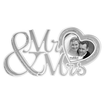 Buy Silver Heart Picture Frame from Bed Bath & Beyond
