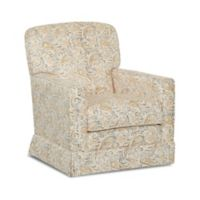 Klaussner® Sussex Swivel Glider in Joule Daisy