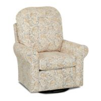 Klaussner® Suffield Swivel Glider in Joule Daisy