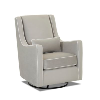 Upholstered Gliders u003e Klaussner® Landover Swivel Glider in Belsire Grey  sc 1 st  buybuy BABY & Furniture Gliders from Buy Buy Baby islam-shia.org