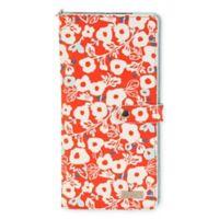 Hadaki Travel Wallet in Berry Blossom Red