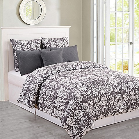 Kensie Lola Oversized Comforter Set Bed Bath Amp Beyond