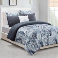 Kensie Staas Queen Comforter Set in Grey