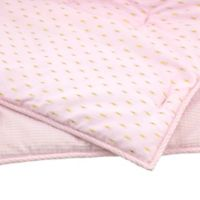Just Born® Sparkle Quilt in Pink
