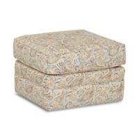 Klaussner® Foss NS Gliding Ottoman in Joule Daisy
