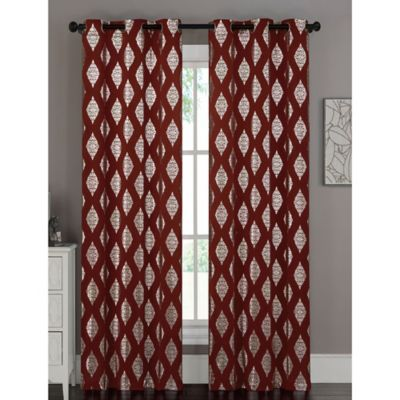 Buy Brick Curtain Panels from Bed Bath & Beyond
