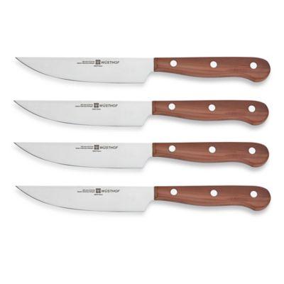 laguiole 7 piece steak knife set colored handles