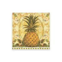 Pimpernel Golden Pineapple Coasters (Set of 6)