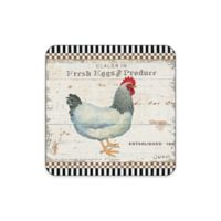 Pimpernel On the Farm Coasters (Set of 4)