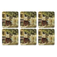 Pimpernel Parisian Scenes Coasters (Set of 6)