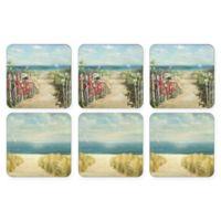 Pimpernel Summer Ride Coasters (Set of 6)