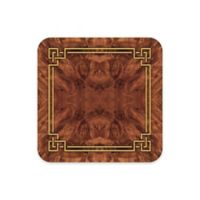 Pimpernel Walnut Burlap Coasters (Set of 6)