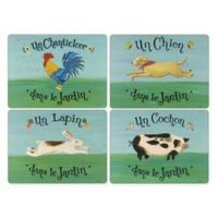 Pimpernel Dans Le Jardin Placemats (Set of 4)