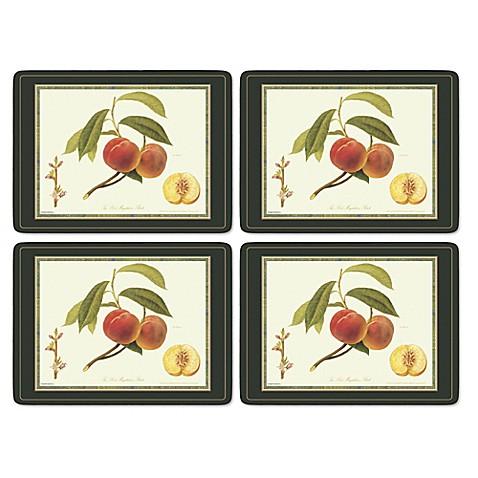 Pimpernel royal horticultural society hooker fruits - Set de table rigide ...