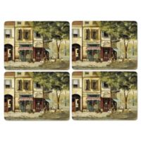 Pimpernel Parisian Scenes Placemats (Set of 4)