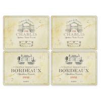 Pimpernel Vin De France Placemats (Set of 4)