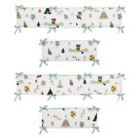 Sweet Jojo Designs Outdoor Adventure 4-Piece Crib Bumper Set
