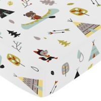 Sweet Jojo Designs Outdoor Adventure Fitted Crib Sheet