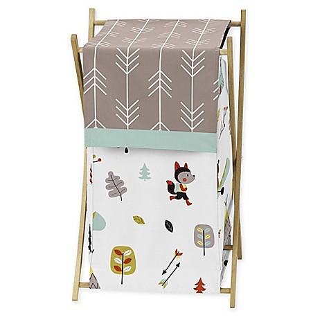 Sweet jojo designs outdoor adventure hamper bed bath for Sweet jojo designs bathroom
