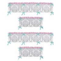 Sweet Jojo Designs Skylar 4-Piece Bumper Set