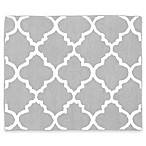 Sweet Jojo Designs Trellis Floor Rug in Grey/White