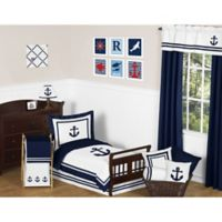 Sweet Jojo Designs Anchors Away 5-Piece Toddler Bedding Set