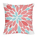Sweet Jojo Designs Emma Throw Pillows in White/ Turquoise (Set of 2)