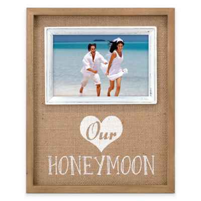 Malden® 4x6 Honeymoon Frame in Burlap