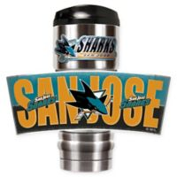 NFL San Jose Sharks Stainless Steel 18 oz. Insulated Tumbler
